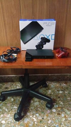 Ps 2 Chipeada Con Joysticks Inalambrico Y M.card 64mb