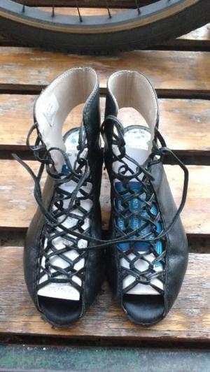 Sandalias de Mujer de Cuero Talle 37