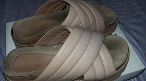 Sandalias de cuero, numero 38