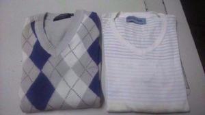 Sweters Para Hombre Lana Finita De Marcas- Talle Small
