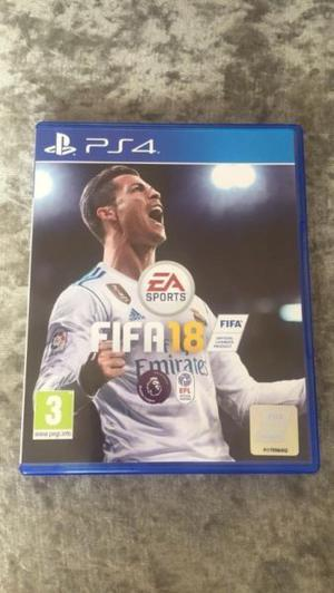 Vendo Fifa 18 para PS4 fisico, sellado, nuevo