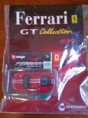 Auto De Coleccion Ferrari De Clarin 430 Scuderia Rojo