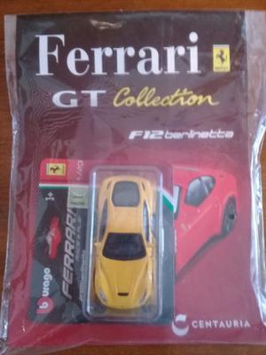 Auto De Coleccion Ferrari De Clarin F12 Berlinetta Amarillo