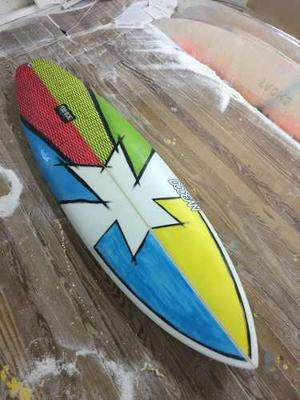 Tabla De Surf 6,4x20x2,65 D-ocean Surfboards
