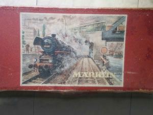 Tren Marklin vias, locomotora y vagones