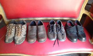 Zapatillas. Lote 4 pares de marca