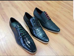 Zapatos de hombre de cuero
