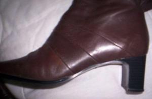 botas nro 38 negras o marron*usada en desfile*perfectas