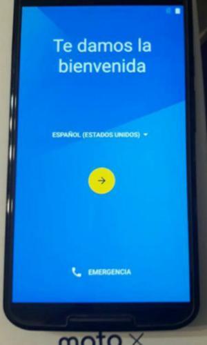 celular libre moto X 2 generacion, lte, 16. gb