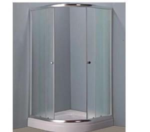 Box ducha spa receptaculo c mampara vidrio posot class Receptaculo ducha a medida