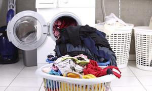 me dedico a lavado de ropa casero 120 $ 12 prendas