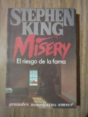 misery el riesgo de la fama de stephen king