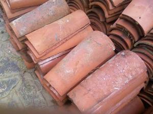 tejas coloniales usadas