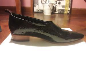 zapatos con taco bajo
