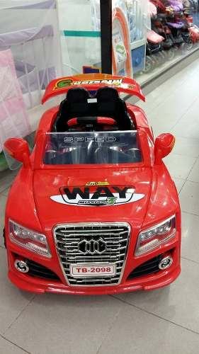 Auto Coche A Bateria Audi 6v Mp3 Control Remoto Envio Gratis