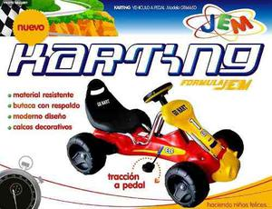 Auto Karting A Pedal Con Aleron Jem Of Tabacotoy's