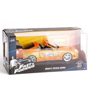 Auto Rapido Y Furioso Toyota Supra Brian Die Cast 1:24 Jada