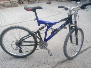 Bicicleta usada,, vairo 24 velocidades doble suspensión