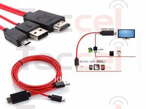 Cable Adaptador Mhl Hdmi galaxy Note 3 S3 S4 S5 1080p
