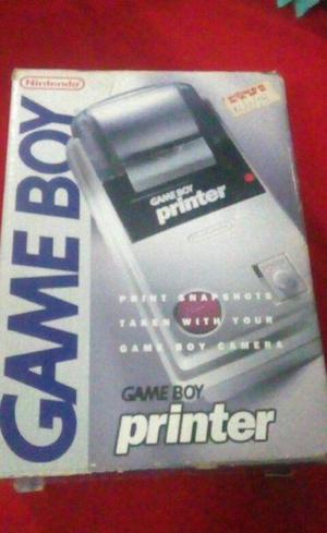 Game Boy Printer en caja.