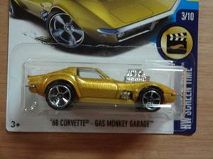 Hot Wheels Corvette Gas Monkey Garage Primera Edicion