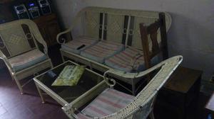Juego de sillones de hierro para terraza o jardin