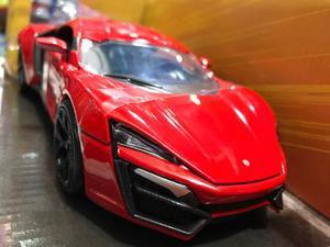 Lykan Hypersport Toretto Rápido Y Furioso Escala 1/24 Metal