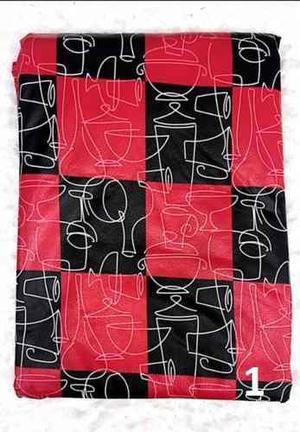 Mantel Cuerina Con Felpa Estampada 140 X 190 Cm