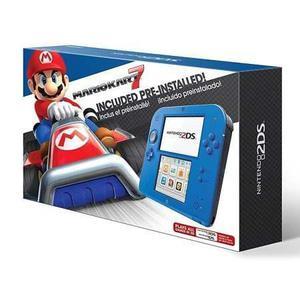 Nintendo 2ds Mario Kart 7 San Isidro Local + Cargador
