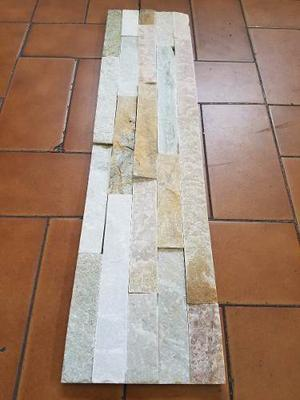 Piedra Beige Natural Importada 15 X 60 Cm