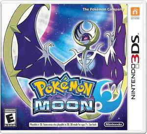 Pokemon Moon Nintendo 3ds Fisico Sellado Original !!!