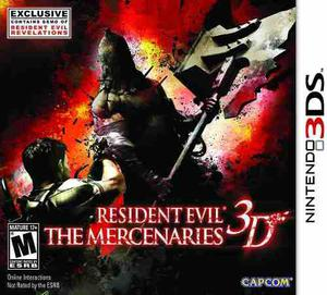 Resident Evil The Mercenaries 3d Nintendo 3ds Fisico Nuevo!