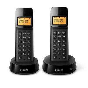 Telefono Inalambrico Duo Philips D1402b Envio