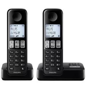 Telefono Philips D2352 Duo Contestador Caller Id Promo