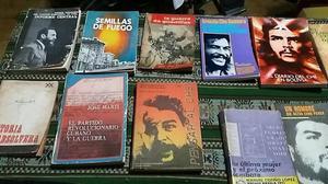 VENDO LIBROS TRAIDOS DE CUBA ORIGINALES DEL CHE Y FIDEL