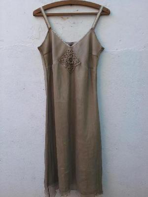 Vestido de Fiesta de seda