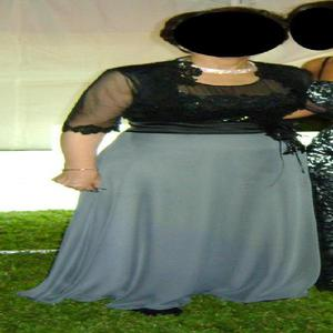 Vestido de fiesta largo tolerita