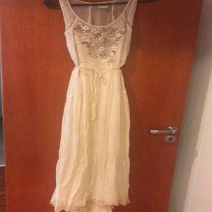 vendo vestido largo de fiesta marca sathya