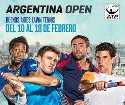 Entradas Argentina Open 2018 - Palco Lat. Bajo - 1 Fila
