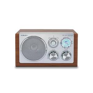 Noblex Rx40m Radio Am/fm Diseño Retro Vintage Box Madera