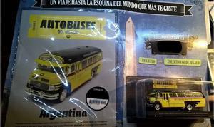 Colección Autobuses Del Mundo Colectivo 60 Excelente!!!