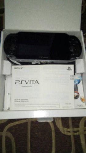 Consola Psp Vita Nuevaa Con Dos Juegos
