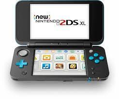 New Nintendo 2ds Xl Blue Casi Sin Uso Región Europea