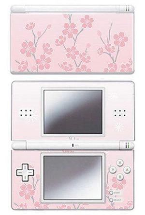 Pink Cherry Blossom Skin Para Consola Nintendo Ds Lite