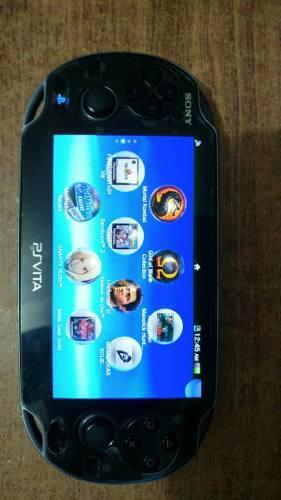 Ps Vita Completa Con Juegos Y Accesorios