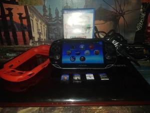 Ps Vita Con Juegos Y Accesorios Permuto