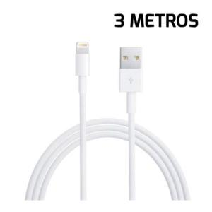 Cable Usb A Lightning 3 Mts Iphone Iad 5s Se 6s 6 6 Plus 7 7