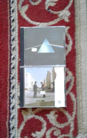 Dos CDs de Pink Floyd