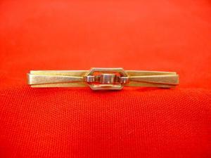 Hermoso Antiguo Broche De Bebe Art Deco De Oro Gold Fix