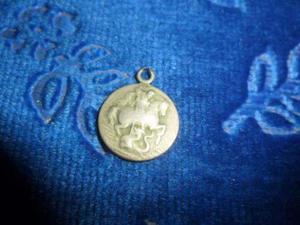 Medalla San Jorge Dragon Antigua.alpaca.microcentro-avellane